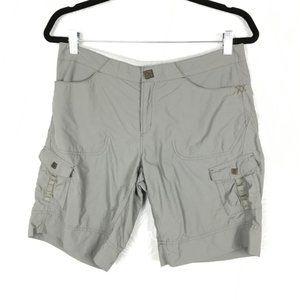 MOUNTAIN HARDWEAR nylon cargo outdoor shorts H20